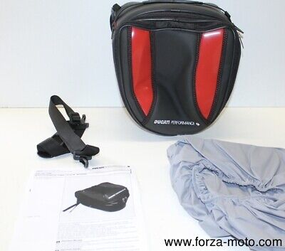 Ducati Performance Red Rear trunk bag for Hypermotard 1100 796 1100S 96760908B