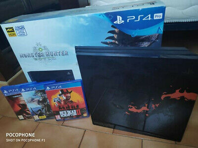 Sony Ps4 Pro 1To Monster Hunter Edition Limited