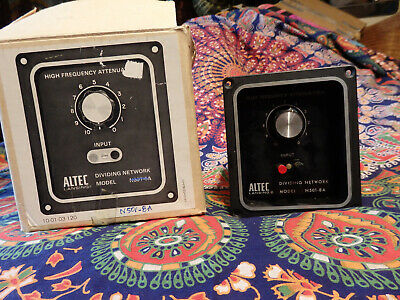 Altec Lansing N501-8A Crossover Frequency Dividing Network NIB NOS VOTT x-over