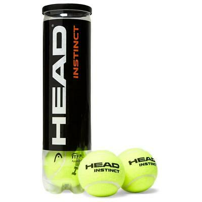 New Head Instinct Tennis Balls (4 Balls) Yellow