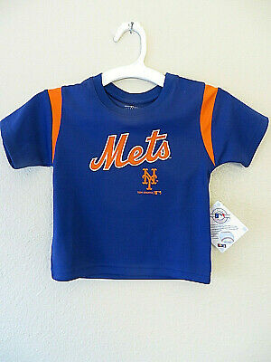 NY New York Mets T-Shirt Blue Tee #34 Syndergaard Boys Toddler NWT