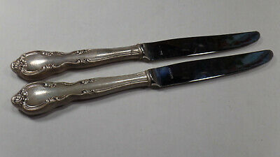 2-Sterling Silver Handled Knives, By Easterling in the American Classic Pattern