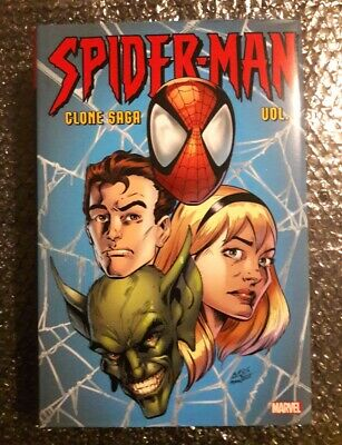 Spider-Man: Clone Saga Omnibus Vol. 1 en Anglais in English