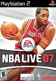 NBA Live 07 (Sony PlayStation 2, 2006) Disc, Case and Manual included