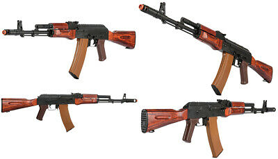 LCT REAL WOOD Airsoft AEG RPK 74 AK Style Hanguard, Stock