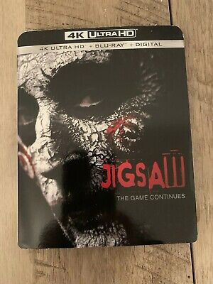 Jigsaw 4K Ultra HD and Blu-Ray w/ Slipcover *NO DIGITAL CODE*