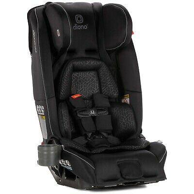 Diono Radian 3 RXT All-in-One Convertible + Booster Child Safety Car Seat -BLACK