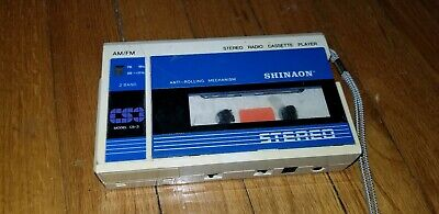 Vintage Shinaon Am FM Radio Casette Player
