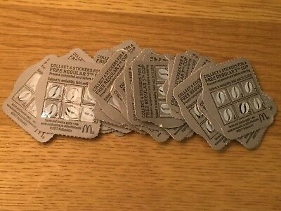 35 Mcdonalds Coffee Vouchers + Extra 5 From Coffee Cups. 2018 (Will Still Work)