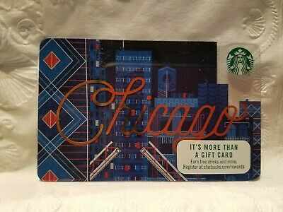 Starbucks gift card CHICAGO 2017 Collectible New No Value
