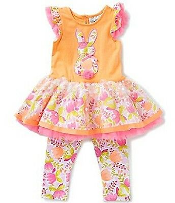 Rare Editions Owl Tunic Top and Leggings Two Piece Sets