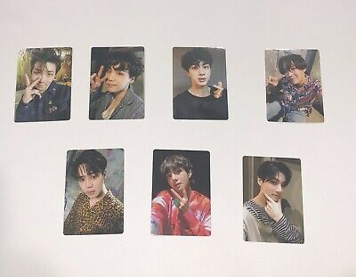 BTS OFFICIAL LIGHT STICK [ARMY BOMB] VER.3 Photo Card Only (7 Full Members)