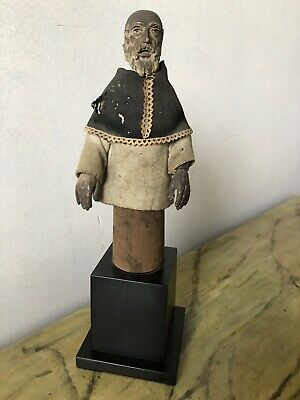 Puppet Antique Carved With Moving Head And Arms