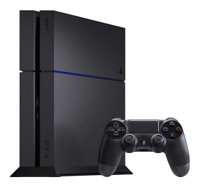 Sony PlayStation 4 -500GB Jet Black Console (No Controller)