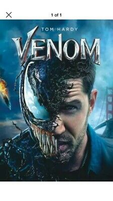 VENOM (DVD,2018) BRAND NEW . Free Shipping.