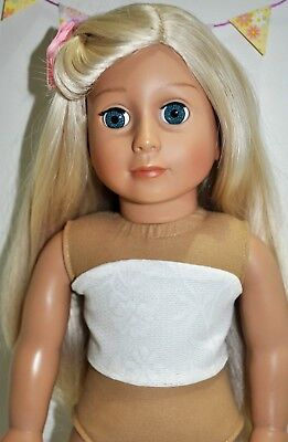 "American Girl Doll Our Generation Journey Gotz 18"" Dolls Clothes Bodice Only"