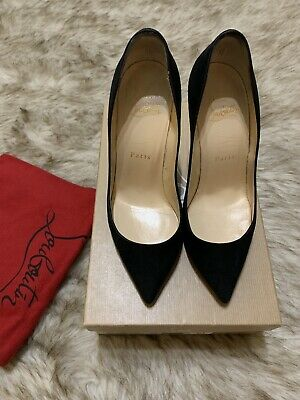 7da36c0b41bd 100% Authentic Black Christian Louboutin Pigalle Follies 100 36 - Retail   695