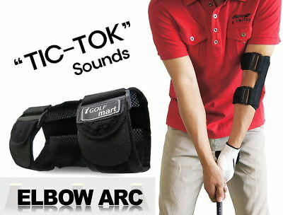 """TIC TOC"" Golf Swing Training Equipment Practice Aid Golf Elbow Brace Mesh Type"