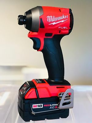 """Milwaukee 2853-20 M18 FUEL 1/4"""" Hex Impact Driver New + (1) 3.0AH Battery"""