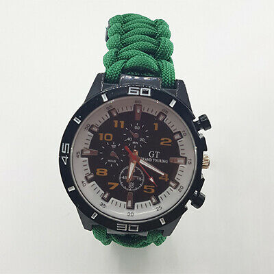 Paracord Watch with Yorkshire Ambulance Service (YAB) Strap