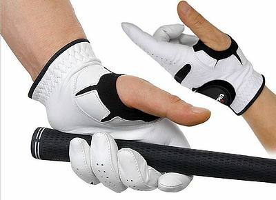 All Premium Cabretta Thumbless Men's Golf Glove Left Smart Genuine Leather