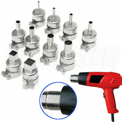 Square Round Heat Gun Nozzle Heat AirGun Nozzle for 850 Hot Air Solder Station