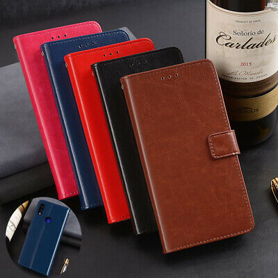 Magnetic Card Leather Flip Case Holder For Xiaomi 8 SE 6X Mix 3 Max 2 Redmi S2