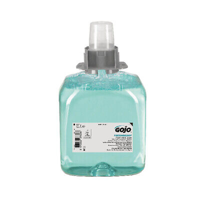 Gojo Luxury Hair Body and Hand Foam Wash FMX 1250ml Refill (Pack of 3) 5163-03-E