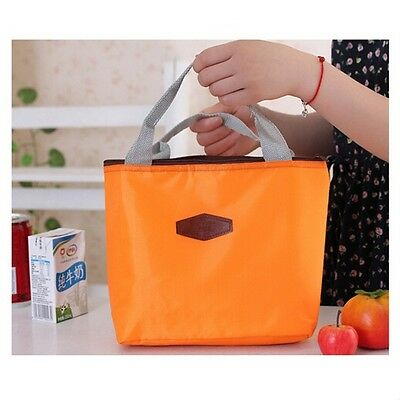 Thermal Lunch Bag Insulated Cooler Waterproof Picnic Tote Storage Pouch Bag RU