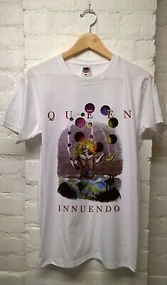 1ef2815b QUEEN BAND T-SHIRT INNUENDO Vintage Clothing 80s/90s Tees - $12.00 ...