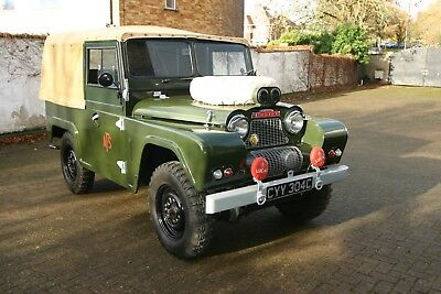 Austin Gipsy 1965 4 X 4 AFS & AFS Brockhouse Trailer with Godiva Fire Pump