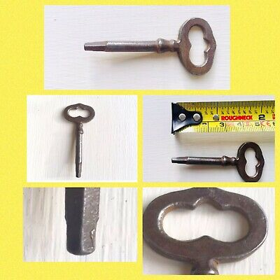 Antique Clock Key Steel Vintage Key