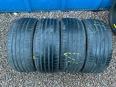Part Worn Tyre 4x 225/35/19 Summer Nokian ZLine 88Y XL EL