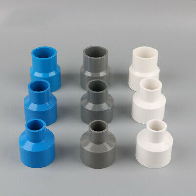 PVC Reducing Socket Coupling Solvent Weld Pressure Pipe Fitting Metric 20 - 90mm