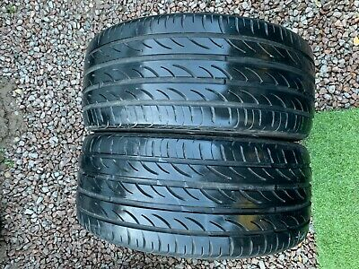 Part Worn Tyre 2x 235/40/18, Summer, Pirelli P Zero Nero GT 95Y