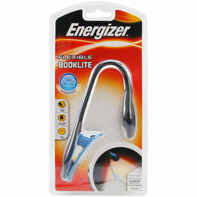 Energizer Flexible Booklite Clip Book Lamp LED Flashlight Comfort for Using_Ic