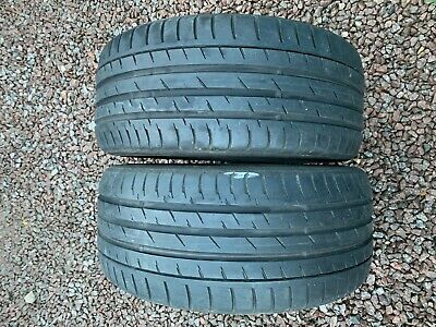Part Worn Tyre 2x 255/35/18, Summer Continental ContiSportContact 3 96Y EL