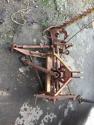 VINTAGE FINGER Bar Mower