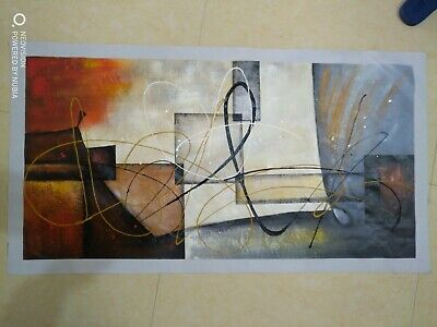 """24×48""""large modern abstract art oil painting canvas wall decoration"""