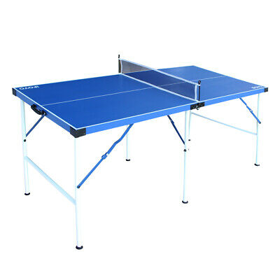 5ft Table Tennis Table Portable Ping Pong Table Set Compact Table Tennis Table