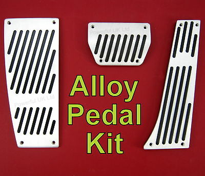 3pc alloy pedal kit for Range Rover L322 brake accelerator footrest supercharged