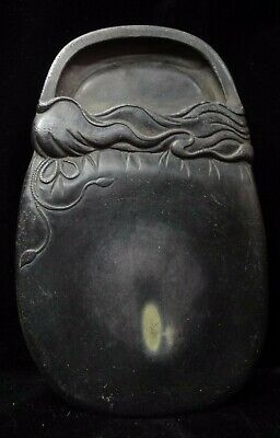"Wonderful Antique Chinese Heavy Hand Carving ""Duan"" Ink Stone Ink Slabe Mark"