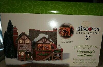 Department 56, Heritage Village, Dickens Collection, Fezziwigs Ballroom -Retired