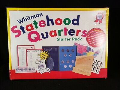 Statehood Quarters Starter Pack : A Whitman Coin Product (2000, Hardcover) NEW