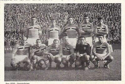 Calcio/Football Foto/Cartolina sq. SAMPDORIA con BRIGHENTI anni '50 originale
