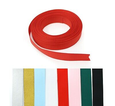 Grosgrain Ribbon High Quality 15mm Width Craft Supplies Trimmings Gift Wrapping