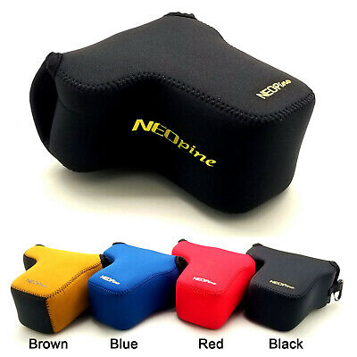 Neoprene Soft Camera protect case bag for Sony A6000 A6300 A6400 A6500 18-135