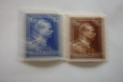 timbres belges neufs 1943