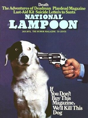 National Lampoon Magazine 246 Issues 1970-1998 PDF format - DVD FREE SHIPPING !!
