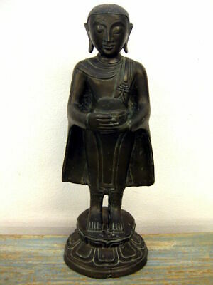 Original Mönch aus Bronze, Burma